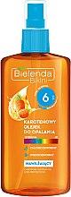 Düfte, Parfümerie und Kosmetik Feuchtigkeitsspendendes Bräunungsöl mit Karroten SPF 6 - Bielenda Bikini Carotene SunTan Oil Moisturizing