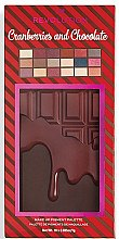 Lidschattenpalette - I Heart Revolution Cranberries & Chocolate Palette — Bild N5