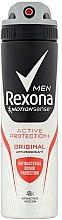 Düfte, Parfümerie und Kosmetik Deospray Antitranspirant - Rexona MotionSense Men Active Protection+ Original