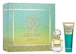 Düfte, Parfümerie und Kosmetik Roberto Cavalli Paradiso - Duftset (Eau de Parfum 50ml + Körperlotion 75ml)