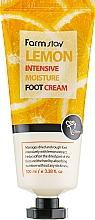 Düfte, Parfümerie und Kosmetik Intensiv feuchtigkeitsspendende Fußcreme mit Zitronenextrakt - FarmStay Lemon Intensive Moisture Foot Cream