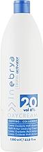 Düfte, Parfümerie und Kosmetik Creme-Oxydant Saphir-Kollagen 20, 6% - Inebrya Bionic Activator Oxycream 20 Vol 6%
