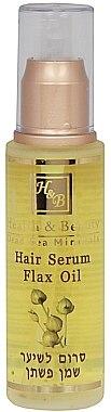 Haarserum mit Leinöl - Health And Beauty Hair Serum Flax Oil — Bild N1