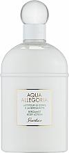 Düfte, Parfümerie und Kosmetik Guerlain Aqua Allegoria Bergamote Calabria - Parfümierte Körperlotion mit Bergamotte
