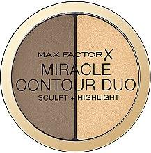 Düfte, Parfümerie und Kosmetik Konturpalette für das Gesicht - Max Factor Miracle Contour Duo