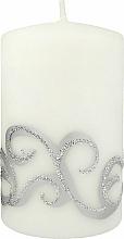Düfte, Parfümerie und Kosmetik Dekorative Kerze weiß 7x10 cm - Artman Christmas Ornament