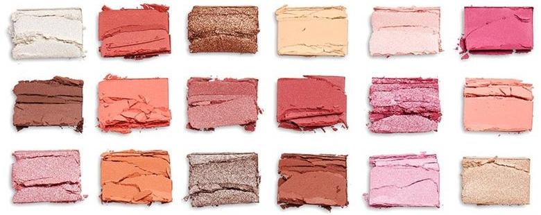 Lidschattenpalette - I Heart Revolution Chocolate Eyeshadow Palette Strawberry Cheesecake — Bild N4