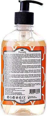 "Flüssige Naturseife ""Sunny Day"" - Hristina Cosmetics Naturally Hand Soap Sunny Day — Bild N2"