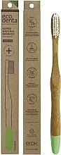 Düfte, Parfümerie und Kosmetik Bambuszahnbürste mittel hellgrün - Ecodenta Bamboo Toothbrush Medium