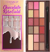 Düfte, Parfümerie und Kosmetik Lidschattenpalette - I Heart Revolution Chocolate Eyeshadow Palette