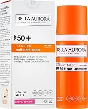 Düfte, Parfümerie und Kosmetik Sonnenschutzfluid für das Gesicht gegen Pigmentflecken SPF 50+ - Bella Aurora Anti-Manchas Treatment SPF50+