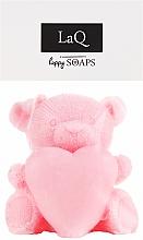 Düfte, Parfümerie und Kosmetik Handgemachte Naturseife Teddybär mit Herz - LaQ Happy Soaps Natural Soap