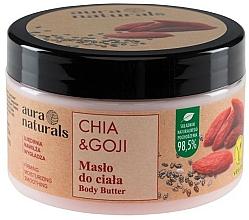 Düfte, Parfümerie und Kosmetik Körperbutter mit Chia und Goji - Aura Naturals Chia & Goji Body Butter