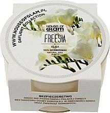 Düfte, Parfümerie und Kosmetik Soja-Duftkerze Freesia - House of Glam Freesia Alba Candle (Mini)