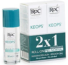 Düfte, Parfümerie und Kosmetik Deo Roll-on 2 St. - RoC Keops Roll-On Deodorant