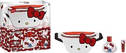 Düfte, Parfümerie und Kosmetik EP Line Hello Kitty Set - Duftset (Parfum 50ml + Lippenbalsam 1 St. + Kosmetiktasche)