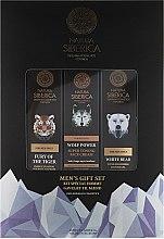 Körperpflegeset für Männer - Narura Siberica Men (Shampoo 250ml + Duschgel 250ml + Gesichtscreme 50ml) — Bild N1
