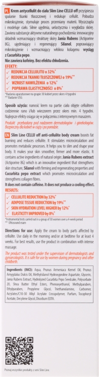 Anti-Cellulite Körpercreme - Floslek Slim Line Anti-Cellulite Body Cream Cellu Off — Bild N3