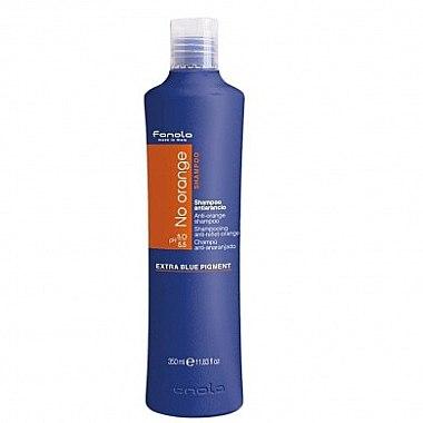 Farbneutralisierendes Shampoo für dunkel gefärbtes Haar - Fanola No Orange Extra Blue Pigment Shampoo — Bild N2