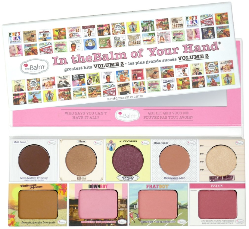 Make-up Set - TheBalm In TheBalm Of Your Hand Greatest Hits Volume 2 Palette — Bild N1