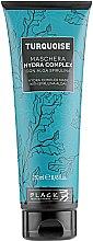 Düfte, Parfümerie und Kosmetik Regenerierende feuchtigkeitsspendende Haarmaske mit Spirulina - Black Professional Line Turquoise Hydra Complex Mask