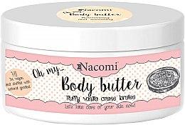 Düfte, Parfümerie und Kosmetik Körperbutter mit Mandeln und Vanille - Nacomi Body Butter Fluffy Vanilla Creme Brulee