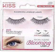 Düfte, Parfümerie und Kosmetik Künstliche Wimpern - Kiss Natural Flourish Blooming Lashes Peony