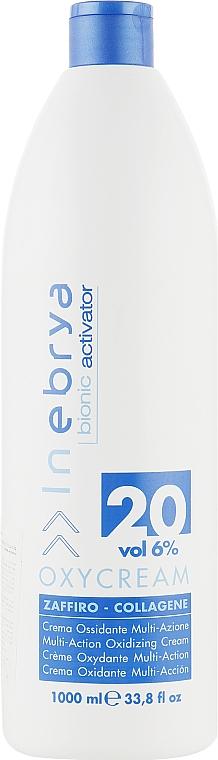 Creme-Oxydant Saphir-Kollagen 20, 6% - Inebrya Bionic Activator Oxycream 20 Vol 6% — Bild N1