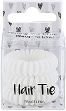 Düfte, Parfümerie und Kosmetik Haargummi weiß 3 St. - Cosmetic 2K Hair Tie Black