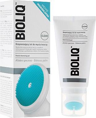 Feuchtigkeitsspendendes Gesichtsreinigungsgel mit Silikonbürste - Bioliq Clean Cleansing Gel — Bild N1