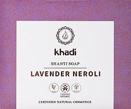 Düfte, Parfümerie und Kosmetik Naturseife mit Lavendel und Neroliöl - Khadi Lavender Neroli Shanti Soap