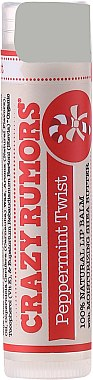 Lippenbalsam - Crazy Rumors Peppermint Twist Lip Balm — Bild N1