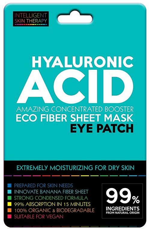 Intensiv feuchtigkeitsspendende Augenpatches mit Hyaluronsäure für trockene Haut - Beauty Face IST Hyaluronic Acid Eco Fiber Eye Patch — Bild N1