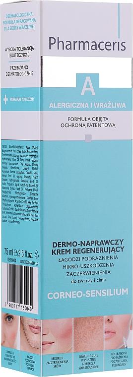 Regenerierende und beruhigende Gesichtscreme für gereizte, geschädigte und gerötete Haut - Pharmaceris A Soothing Cream — Bild N1