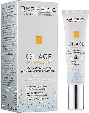 Anti-Falten Creme-Balsam für die Augenpartie - Dermedic Oilage Concentrated Anti-Wrinkle Eye Cream — Bild N1