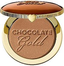 Düfte, Parfümerie und Kosmetik Langanhaltender Gesichtsbronzer - Too Faced Chocolate Gold Soleil Bronzer