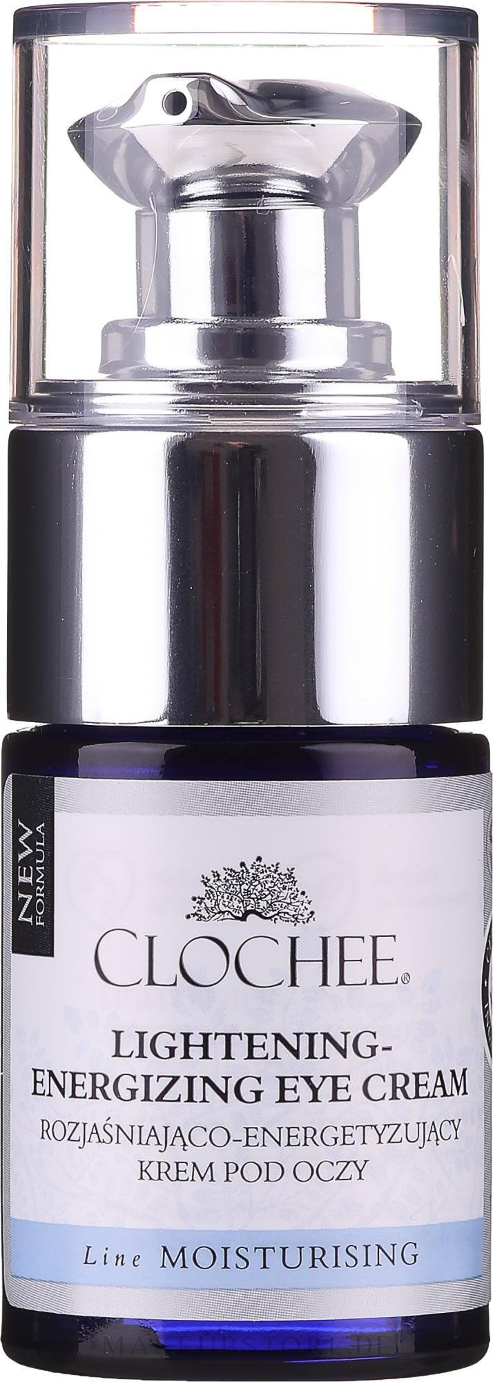 Aufhellende und energiespendende Augencreme - Clochee Lightening-Energizing Eye Cream — Bild 15 ml