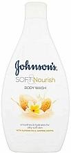 Düfte, Parfümerie und Kosmetik Beruhigendes und feuchtigkeitsspendendes Duschgel mit Mandelöl und Jasmin - Johnson`s Body Wash Soft & Pamper