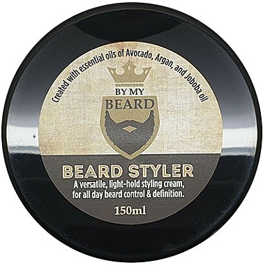 Pflegendes Bartstyling mit Avocado-, Argan- und Jojobaöl - By My Beard Beard Styler Light Hold Styling Cream — Bild N1