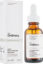 Düfte, Parfümerie und Kosmetik Feuchtigkeitsspendendes 100% pflanzliches Squalanöl - The Ordinary 100% Plant-Derived Squalane