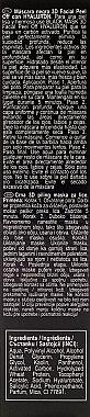 Schwarze Peel-Off Gesichtsmaske mit Hyaluronsäure - Revuele Black Mask Peel Off Hyaluron — Bild N3
