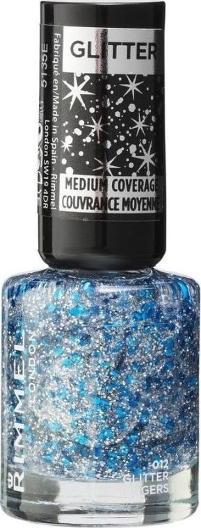 Nagellack - Rimmel Glitter Medium Coverage — Bild N1