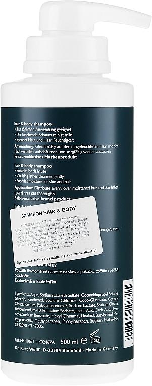 Shampoo für Körper und Haar - Alcina Herrenpflege For Men Hair & Body Shampoo — Bild N4