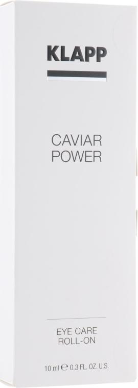 Roll-on für die Augenpartie - Klapp Caviar Power Eye Care Roll-On — Bild N1