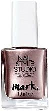 Düfte, Parfümerie und Kosmetik Nagellack mit metallischem Effekt - Avon Mark Nail Style Studio