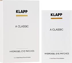 Düfte, Parfümerie und Kosmetik Gelpatches für die Augenpartie mit Vitamin A - Klapp A Classic Eye Care Pads