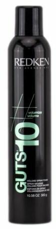 Schaumfestiger für Fülle und Volumen mit Anti-Frizz-Effekt - Redken Guts 10 Volume Boosting Spray Foam for Unisex — Bild N1