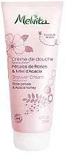 Düfte, Parfümerie und Kosmetik Duschgel - Melvita Body Care Shower Rose & Acacia Honey