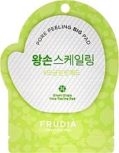 Düfte, Parfümerie und Kosmetik Gesichtspeeling-Pad mit grünen Trauben - Frudia Pore Peeling Big Pad Green Grape