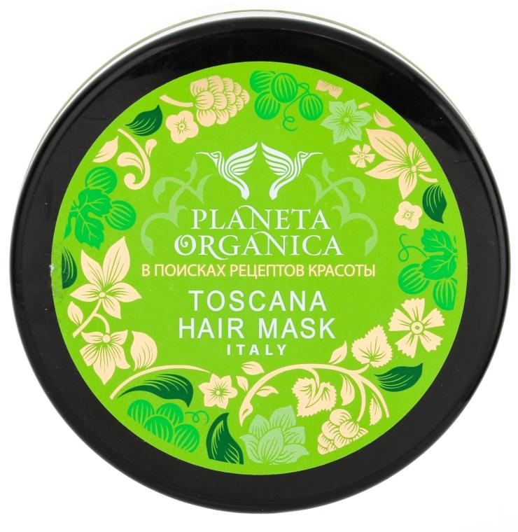 Smaragdgrüne toskanische Maske für trockenes und strapaziertes Haar - Planeta Organica Toscana Hair Mask — Bild N3